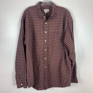 Vintage J. crew long sleeve button down  shirt